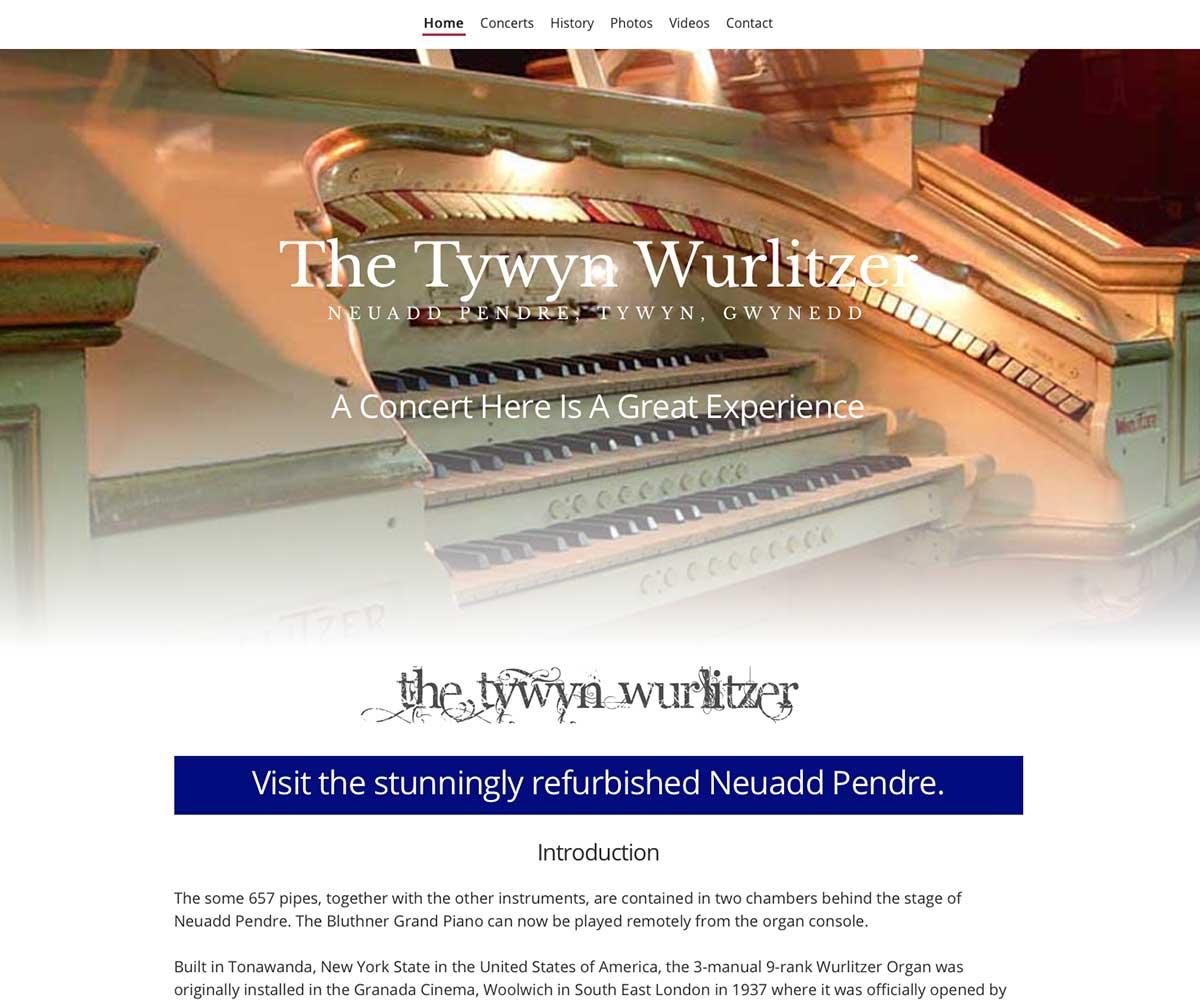 tywynwurlitzer.com